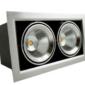 Lampa incorporabila tip grille light cu LED 2x10W