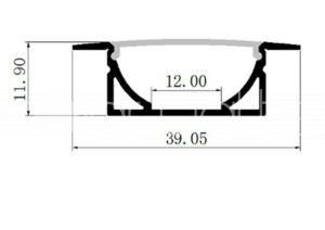 Profil metalic
